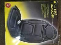 Car massage chair