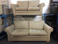 NEW / EX DISPLAY DFS Mink 3 + 2 Seater Sofas