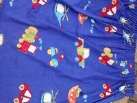 2 pairs children's curtains hand made