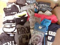 job lot mens clothes-jeans,hoodys,t-shirts,coats and shorts