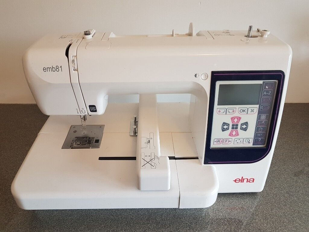 ELNA EMB81 Embroidery Machine - Plus Extras & 47 Embroidery Threads -  JANOME ---- FAULTY
