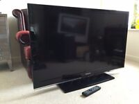 """Samsung 46"""" TV LCD HD 1080p Television HDMI Freeview LE46C530F1W"""