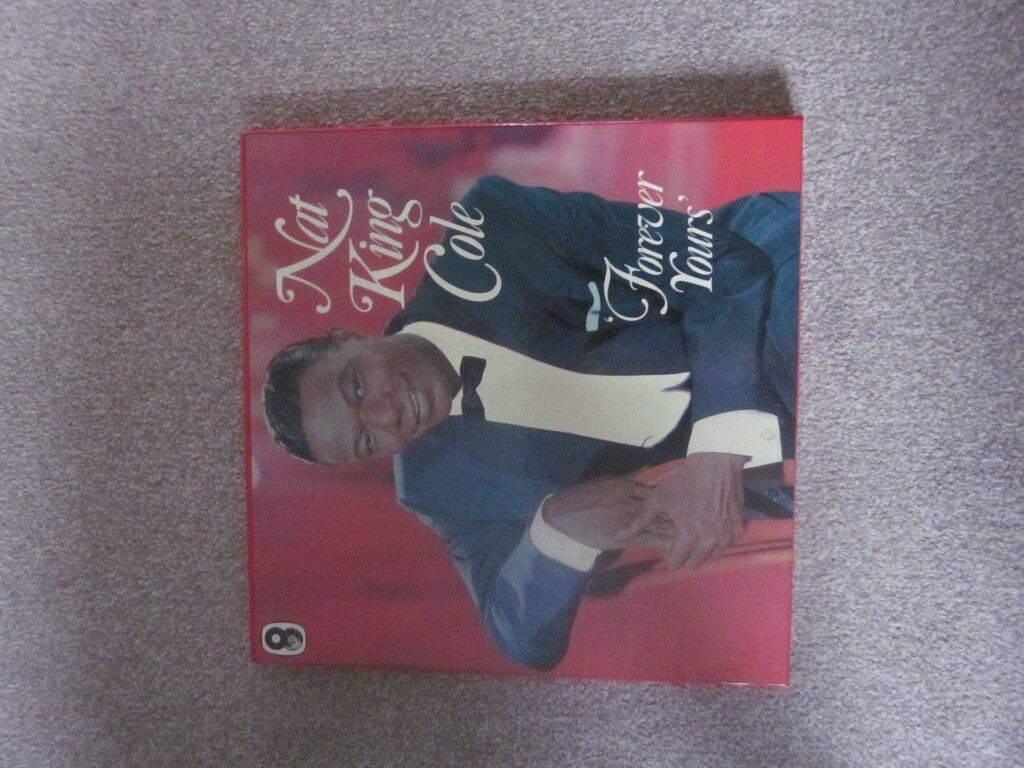 Nat King Cole: 6 record box set 'Forever Yours'