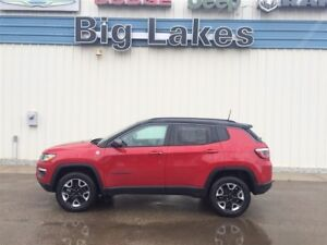 2018 Jeep Compass TRAILHAWK 4X4 OFF ROAD PACKAGE