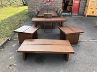 Walnut coffee table * free furniture delivery*