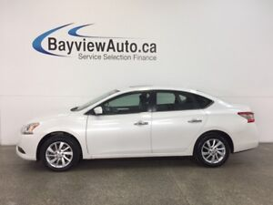 2014 Nissan SENTRA SV- ALLOYS|ROOF|HTD STS|REV CAM|BOSE|CRUISE!