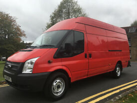 LOW MILEAGE FORD TRANSIT JUMBO 2.2 TDCI 2013 EURO5 - XLWB / HIGH ROOF - 6 SPEED - NO VAT!!!!!!!!!