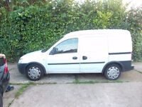 VAUXHALL COMBO 1.3 DIESEL 2011 REG MOT MAY2017 GOOD RELIABLE VAN NEW TYRES JUST FITTED