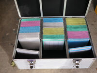 600 Disc Metal Storage Box - CD/DVD/BluRay