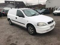 VAUXHALL ASTRA ENVOY DTI (white and red) 2002