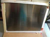 Stainless Steel Splashback 90cm x 70cm