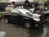 BREAKING - PEUGEOT 206 CC - O/S MIRROR - ALL PARTS AVAILABLE