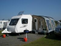 Swift Charisma 560 touring caravan 2011 for sale, £10,500 one owner excellent condition !