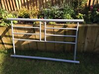 Double Bed. Metal framed.