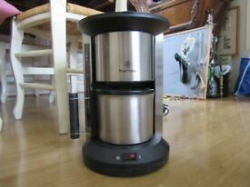--NEW-- CLASSIC SATIN COFFEE MAKER -RUSSEL HOBBS