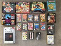 Job Lot / Bundle of 37 Commodore 64 C64 Retro Vintage Games