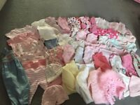 Baby girls clothes from newborn to 0-3 excellent condition