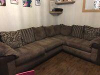 Left hand dfs corner sofa