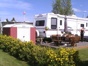Lot & Trailer at Carefree Resort on Glennifer lake