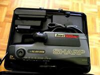 Sharp Zoom 6 Camcorder and case