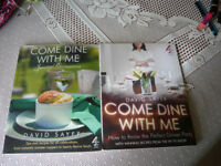 2 COME DINE RECIPE BOOKS