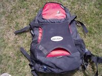 Dueter Cross Air 16 litre Day Backpack.