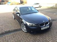 "BMW 520d M Sport 2005 19"" spyders wheels , Remapped , Leather Seats HPI Clear"