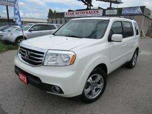 2012 Honda Pilot EX-L, 4WD, Leather, Sunroof, Backup camera