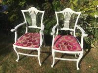 A pair of vintage chairs £5!