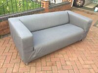 IKEA KLIPPAN 3 seater sofa - bought 1 week ago for 149 // free delivery
