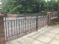 Wrought Iron Gates -Buyer to Remove/Uplift