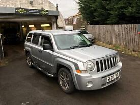 JEEP PATRIOT 2.0 TDI 2007 FSH MOT FULLY LOADED HEATED LEATHER 90k MILES 4x4 CRV RAV4 VITARA