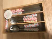 Cath kidston cutlery set very good condition