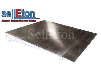 Selleton Op-750ss Stainless Steel Ramp For Floor Scale 48 X 40 X 4 5000 Cap