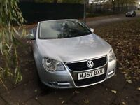 2007 VW Volkswagen EOS 2.0 TDI Cabriolet,Convertible,6 Speed,2 Owners,Low Mileage