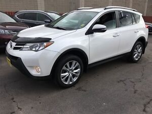 2013 Toyota RAV4 Limited, Leather, Sunroof, AWD, Only 44,000km