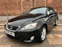 2007 LEXUS IS 220 DIESEL / REMOTE LOCKING / ELECTRIC WINDOWS / CD / FULL MOT .
