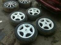 """16"""" mini Cooper wheels.and tyres"""