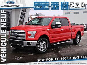 2016 Ford F-150 LARIAT + 502A + 154$/SEM
