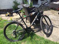 "Black Mountain Bike, 17"" Frame- For Sale"
