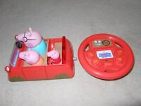 Peppa Pig: Drive & Steer Remote Control Car