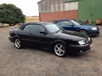 1998-2003 SAAB 9-3 93 CABRIOLET CONVERTIBLE BREAKING FOR SPARE PARTS, ALL PARTS AVAILABLE