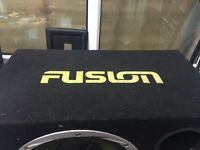 "12"" fusion subwoofer"