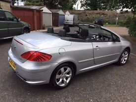 2006 Peugeot 307 Coupe Cabriolet- 2.0 S 2dr Warrnated Low Mileage HPI Clear @ 07445775115 @