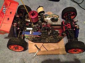 Nitro 1/8th RC buggy