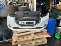 Peugeot 208 front bumper complete in white