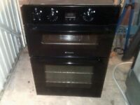 Hotpoint built in double oven.