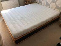King Size IKEA Bed & Mattress - Free to Pickup