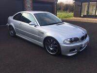 BMW M3 E46 Coupe Manual 02 - Mature Owner - Full Service History - 1000's recently spent