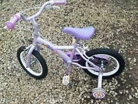 Small girls bike